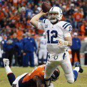 Colts bezwingen im Viertelfinale die Broncos