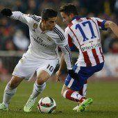 Atlético besiegt Real im Hinspiel der Copa del Rey