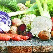 Beim Gemüse zurück zu den Wurzeln