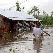 Unwetter auf den Philippinen: 80.000 Einwohner auf der Flucht