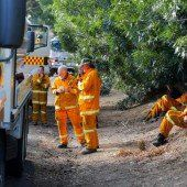 Buschfeuer in Australien breiten sich weiter aus