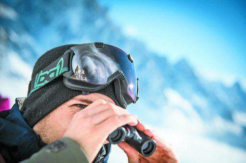So sehr Fabio Studer seine Linie auch suchte, wirklich gefunden hat er sie nicht. Nach Chamonix ist für ihn die FWT-Saison zu Ende. Foto: FWT