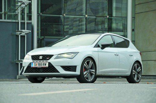 Spanisches Kraftpaket: Der Seat Leon Cupra leistet 280 PS und bietet dennoch höchste Alltagstauglichkeit. Fotos: vN/Gasser