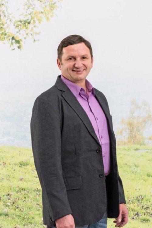 Spitzenmann der Altacher Bürgerliste: Willi Witzemann.