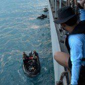 AirAsia-Suche: Signale im Meer geortet