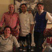 Kulinarisches Event in drei Häusern in Damüls
