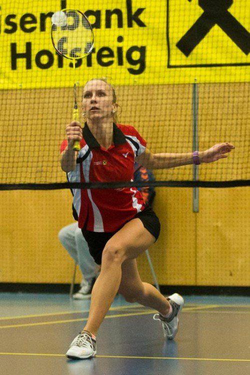 Tina Kodric ist nach sieben Einzelpartien ohne Niederlage.