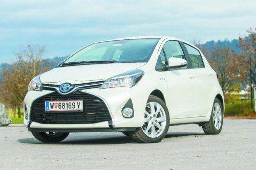 Toyota Yaris Hybrid: Unter vier Metern Länge, fünf Türen, neues Design und innovative Hybrid-Technologie. Fotos: Vn/Steurer