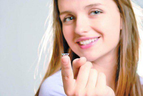 Trockene Heizungsluft setzt Kontaktlinsenträgern zu. Foto: opitker