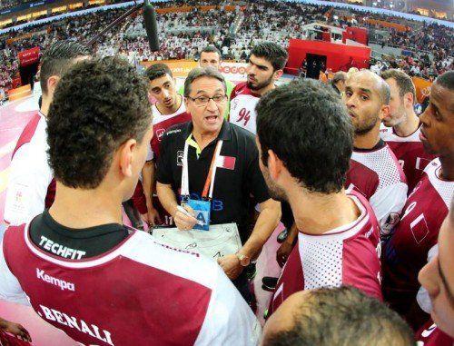 Valero Rivera könnte als erster Trainer der Geschichte einen WM-Titelverteidigen. Foto: epa
