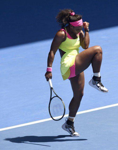 Venus Williams marschierte souverän ins Halbfinale. Foto: ap
