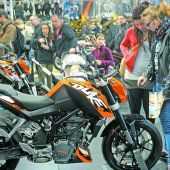 Motorradwelt begeisterte