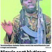 Solidarität mit Terroropfern von Nigeria