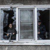 Heftige Kämpfe in Ukraine