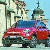 Fiat 500X feiert Ländle-Premiere