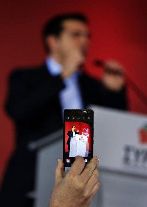 Was lange verschwommen war, zeichnet sich nun immer deutlicher ab: Alexis Tsipras politischer Kurs geht nicht gegen die EU. FOTO: REUTERS
