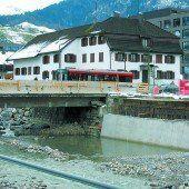 Bau der Sägerbrücke im Zeitplan