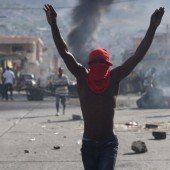 Neuwahlen wehren in Haiti politische Krise ab