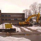 Erweiterung der Altacher Mittelschule ist im Gange
