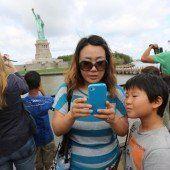 New York stellte neuen Touristenrekord auf