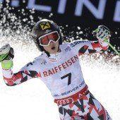 Fenninger nach Riesentorlauf-Triumph Doppelweltmeisterin