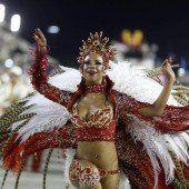 Millionen Brasilianer sind im Karnevalsrausch
