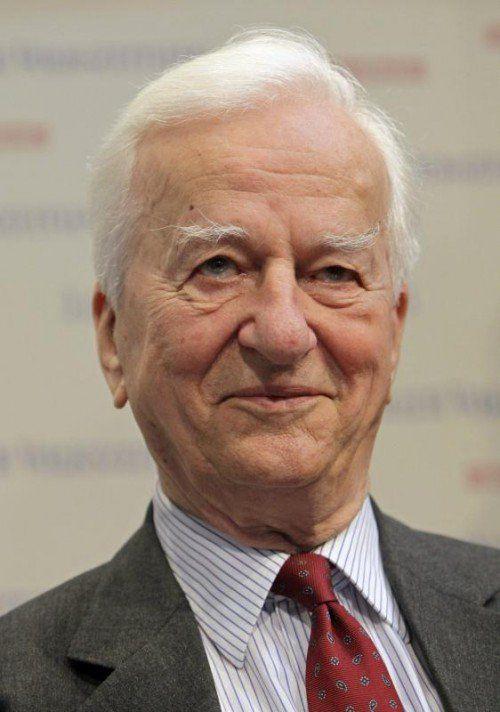 Alt-Bundespräsident Richard von Weizsäcker (1920-2015)  EPA