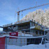 VOGEWOSI-Bau in Dalaas im Rohbau fertig