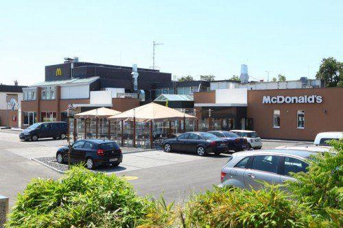 """McDonald's Hard gibt es seit 1994. Es ist der älteste """"Mäckie"""" in Vorarlberg. VN"""