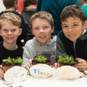 Gemüsebeet als Schulprojekt