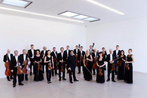 Bregenzer Meisterkonzert mit dem Württembergischen Kammerorchester Heilbronn. foto: veranstalter