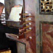 Historische Orgel als Zentrum