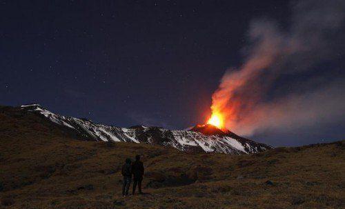 Der Ätna ist der höchste aktive Vulkan Europas.  Foto: Reuters