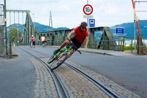 Der Anteil der Radfahrer im Straßenverkehr hat sich deutlich erhöht und damit auch die Anzahl der Unfälle. Foto: VN/Hartinger