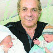 Erstmals in Österreich: Zwillinge für 60-Jährige