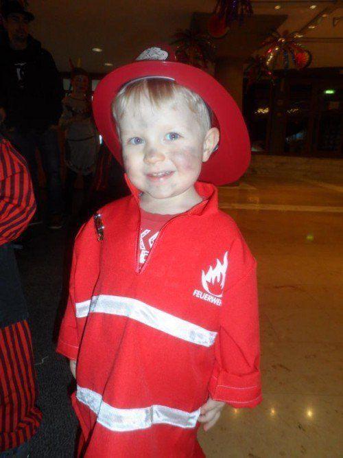 Colin (2,5 Jahre) aus Lustenau.