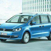 VW wertet den Sharan auf