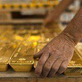 Gold legt eine Verschnaufpause ein