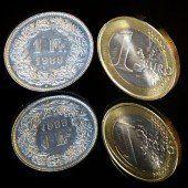 Schweizer Franken schwächelt