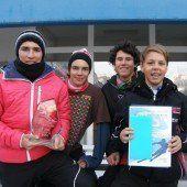 Dornbirns schnelle Ski-Schüler