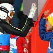 Skisprung-Damen konnten Selbstvertrauen tanken
