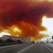 Giftwolke zieht über Städte in Spanien