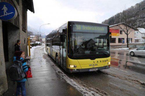 Die Linie 56 fährt wieder bis ins Rankweiler Zentrum.  Foto: etu