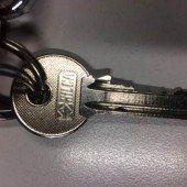 Zu welchem Schloss passt dieser Schlüssel?