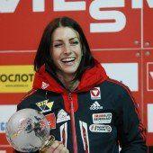 Janine Flock kürt sich zur Weltcupsiegerin