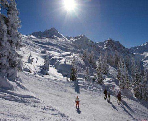 Die Talabfahrt in Gaschurn ist wieder befahrbar – aber nur, solange es genug Schnee hat.  Foto: Silvretta Montafon