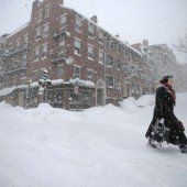 Neue Schneestürme im Nordosten der USA