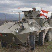 Vorbereitung für den Einsatz im Kosovo