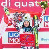 Anna Fenninger holte sich WM-Gold im Super-G