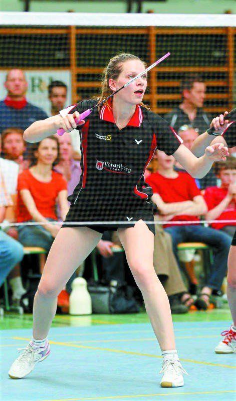 Elisabeth Baldauf holte sich ohne Satzverlust die Staatsmeistertitel im Einzel, Doppel und Mixed. Foto: diener